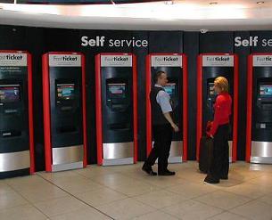 автомат по продаже железнодорожных билетов