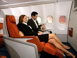 сиденье бизнес-класса