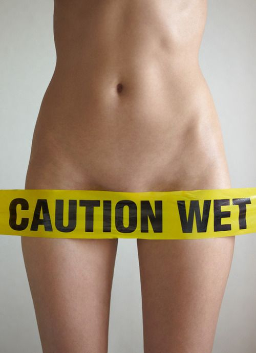 Caution! Wet!