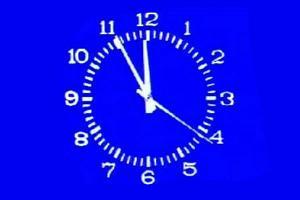 Часы советского ТВ