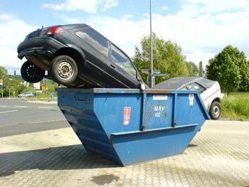 Утилизация легковых автомобилей